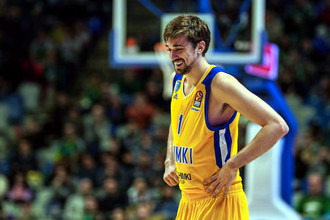 Лидер баскетбольных «Химок» Алексей Швед