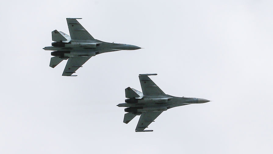 Разведчики НАТО у границ: Балтфлот поднял в воздух Су-27