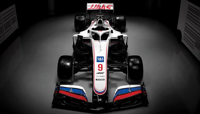 Болид команды «Формулы-1» «Хаас»