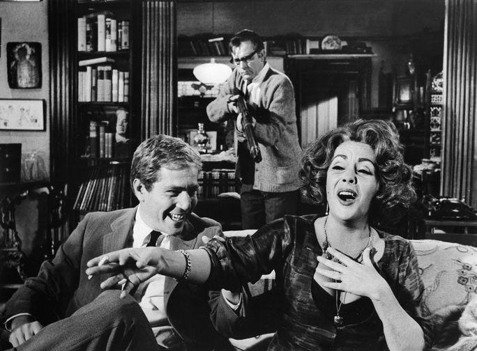 Элизабет Тейлор в фильме «Кто боится Вирджинии Вульф?» (1966)