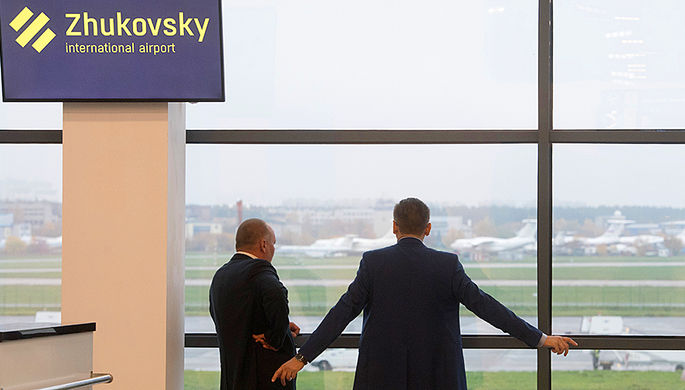 Грузы облетают Жуковский