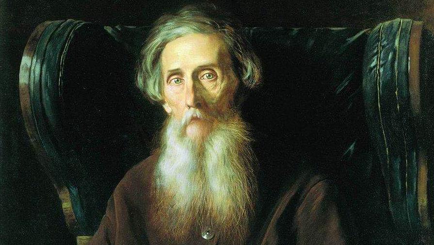Портрет писателя Владимира Даля кисти Василия Перова (1872)