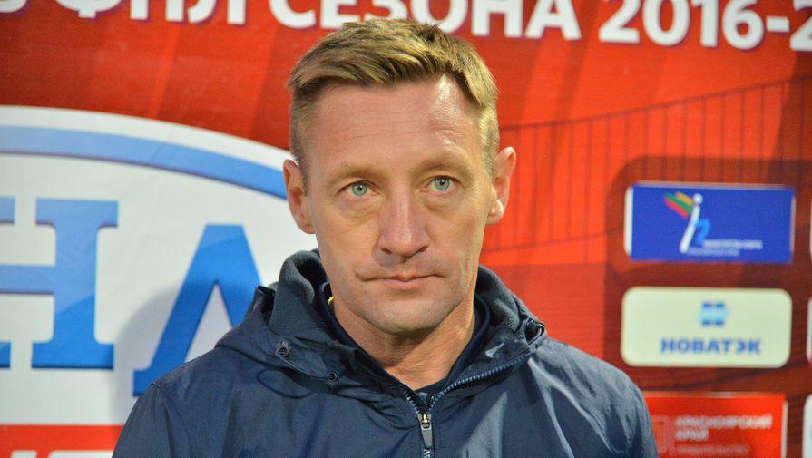 Главный тренер «Енисея» Андрей Тихонов после первого матча с тульским «Арсеналом»