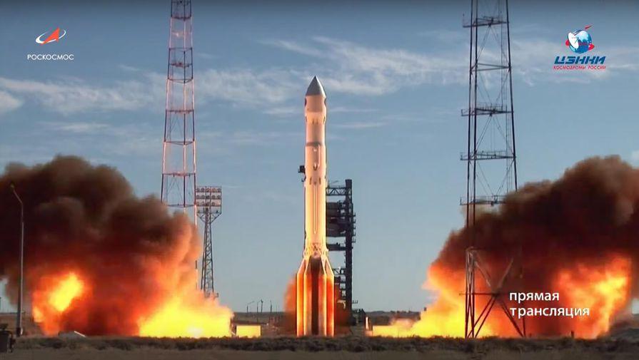 «Протон-М» с военным спутником стартовал с Байконура