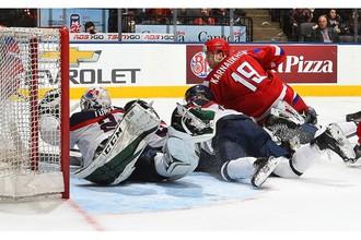 Молодежная сборная России по хоккею одержала сухую победу над Словакией и вышла в плей-офф с третьего места в группе