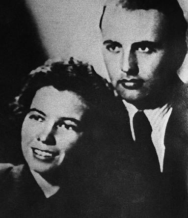 Михаил Горбачев и Раиса Горбачева в молодые годы. Фото 1953–1954 годов