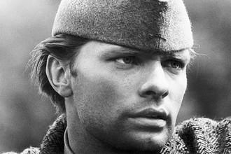 Олег Видов в роли Николы в кинофильме «Битва на Неретве», 1969 год
