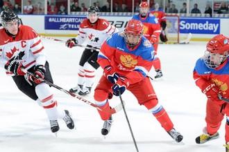 Матчи России и Канады всегда выходят очень напряженными