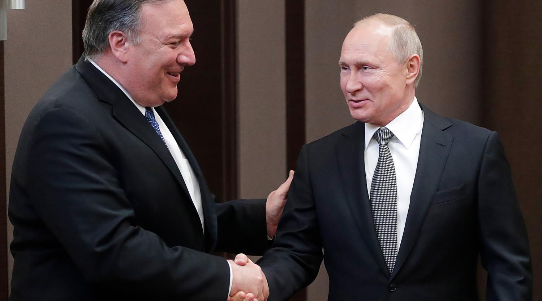 Как Путин и Помпео обсудили санкции, рассказали в Кремле