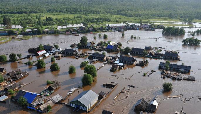 Тысячи домов: жуткий потоп в Иркутской области