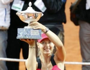 Мария Шарапова второй год подряд выиграла турнир в Риме