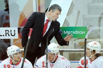С Андреем Сидоренко «Спартак» проиграл только в третьем матче