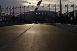Вид на «Сочи Автодром» в преддверии Гран-при России