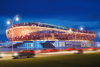 <b>«Юбилейный»</b> (Саранск), строится, должен быть готов в 2015 году. Стоимость строительства &mdash; 16,5 млрд руб. Вместимость во время ЧМ составит почти 45 тыс. человек, после &mdash; 25 тыс. человек. Станет домашним стадионом ФК «Мордовия»&nbsp;
