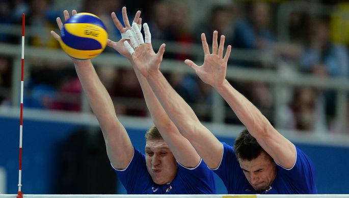 Волейболист сборной России Александр Кимеров